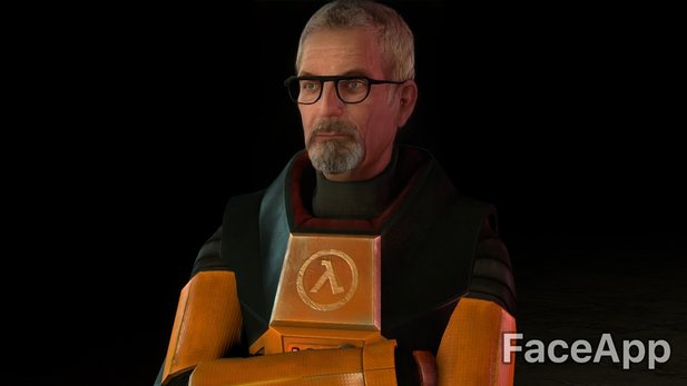 Gordon Freeman in alt