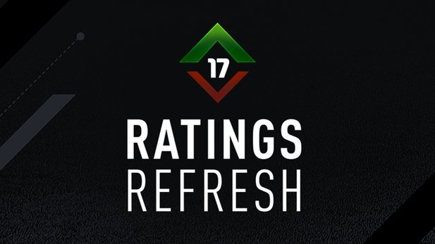 Statt den Winter-Upgrades gibt es in FIFA 17 erstmals den Ratings Refresh.