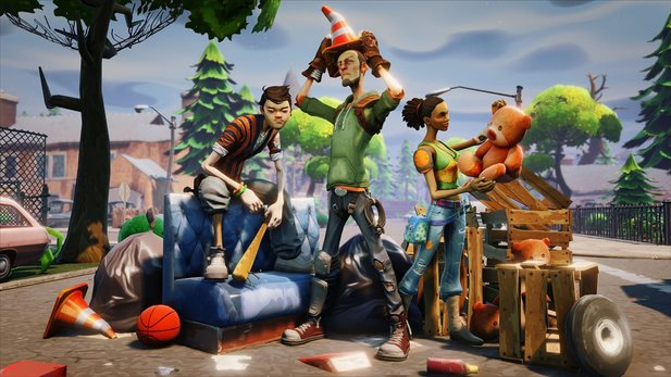 Fortnite - Entwickler-Video: 13 Minuten Gameplay
