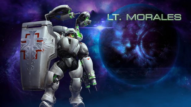 Heroes of the Storm - Charakter-Trailer: Lt. Morales
