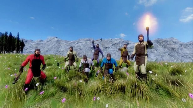 Medieval Engineers - Trailer zum Multiplayer-Update 02.015