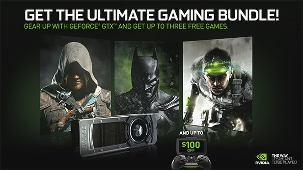 Das Nvidia-Spielebundle Pirates, Heroes and Spies.