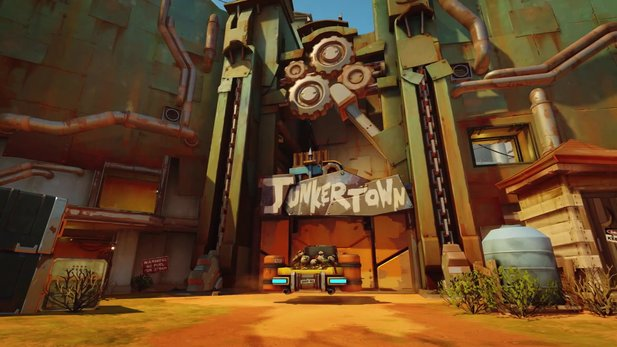 "Overwatch - Neue Escort-Map ""Junkertown"" im Trailer"