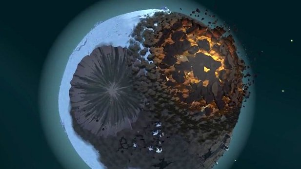 Planetary Annihilation - Gameplay-Trailer zum Beta-Start zeigt Asteroiden-Krieg