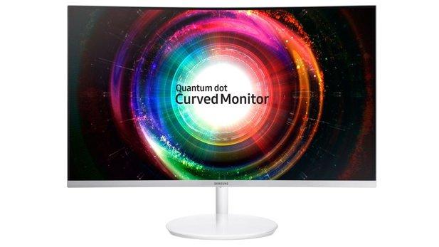 samsung 27 zoll curved qled wqhd monitor apple ipad 2018. Black Bedroom Furniture Sets. Home Design Ideas