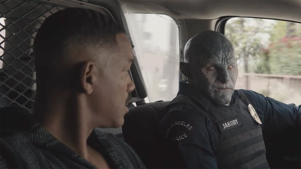 SciFi-Film Bright - Will Smith gegen Orks & Elfen im Behind-the-Scenes-Video