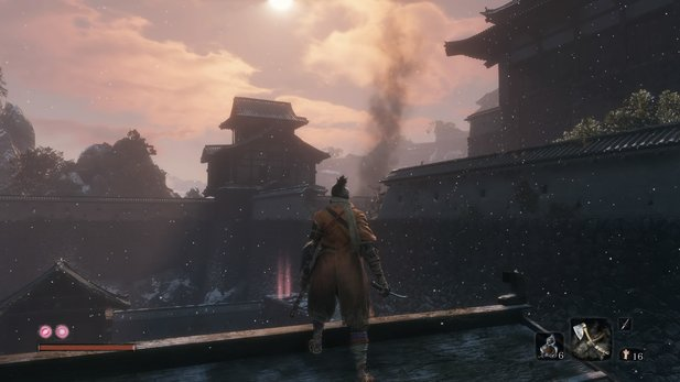 From Software leitet in Sekiro clever den Blick des Spielers.