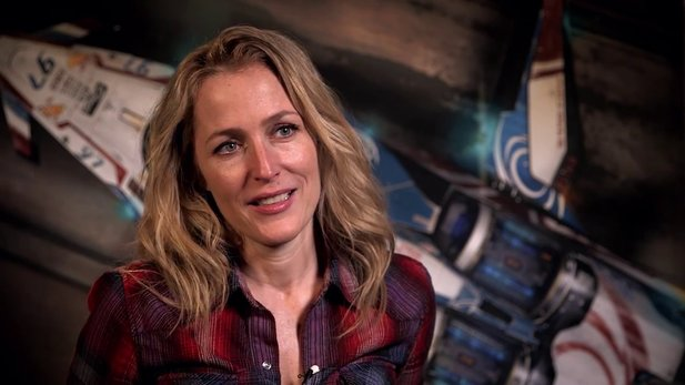 Star Citizen - Motion-Capturing-Aufnahmen mit Gillian Anderson