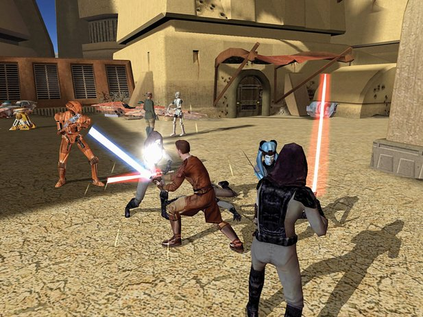 Knights of the Old Republic 3 war bei Obsidian in Arbeit.