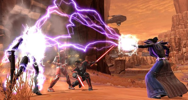 Star Wars: The Old Republic - Bald wird es voll.
