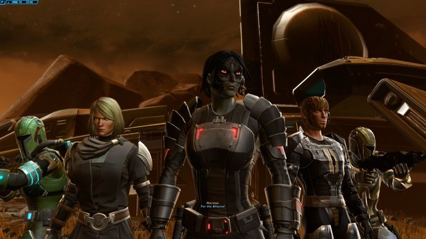 In Star Wars: The Old Republic beginnt das neue Addon Knights of the Eternal Throne bereits mit ordentlich Action.