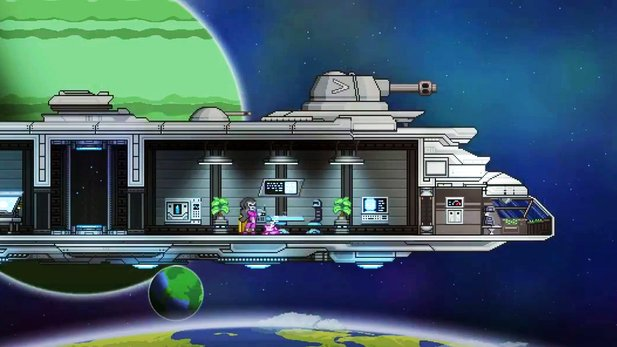 Starbound - Update-Trailer: Weltall-Erkundung, Raumstationen & Mechs
