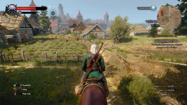 Realistic Witcher 3