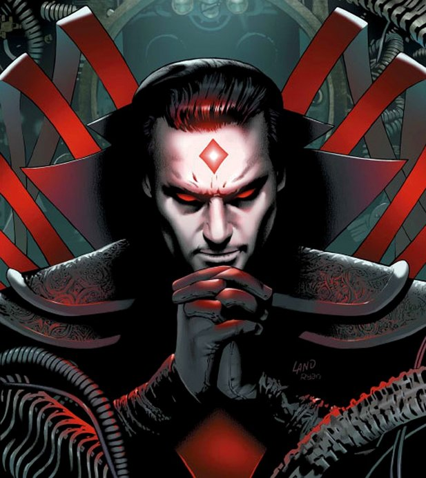 Nathaniel Essex aka Mister Sinister in den X-Men Comics.