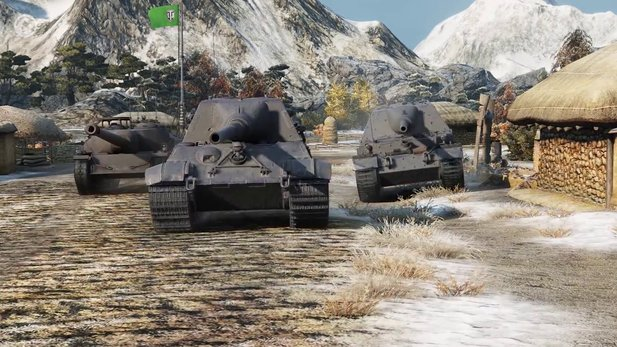 World of Tanks - Launch-Trailer zum Update 9.13