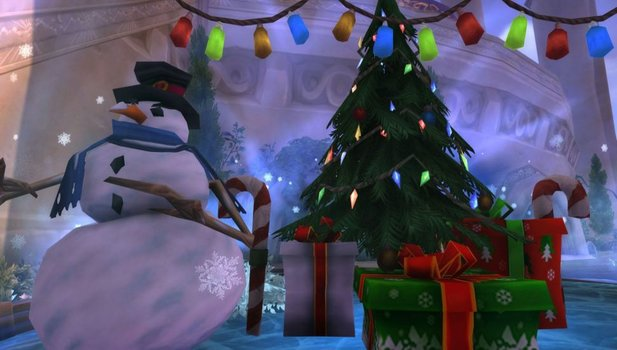 World of Warcraft feiert das Winterhauchfest.