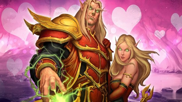 In World of Warcraft startet erneut das Valentinstags-Event.