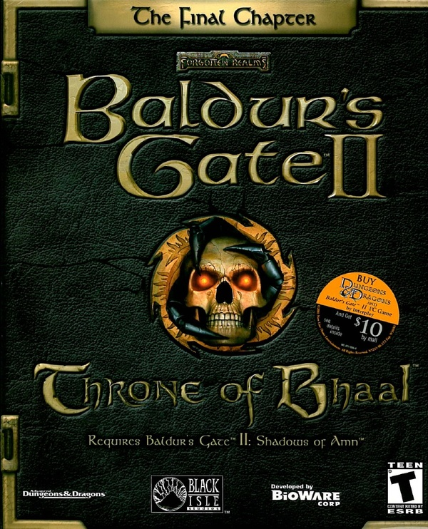 Cover zu Baldur's Gate 2: Thron des Bhaal