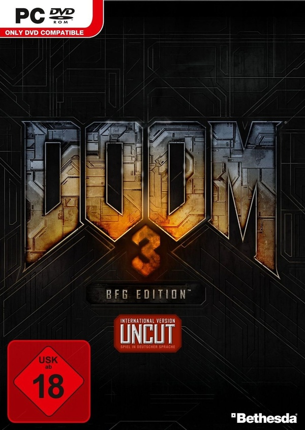Cover zu Doom 3 BFG Edition