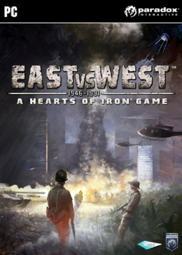 Cover zu East vs. West: A Hearts of Iron Game