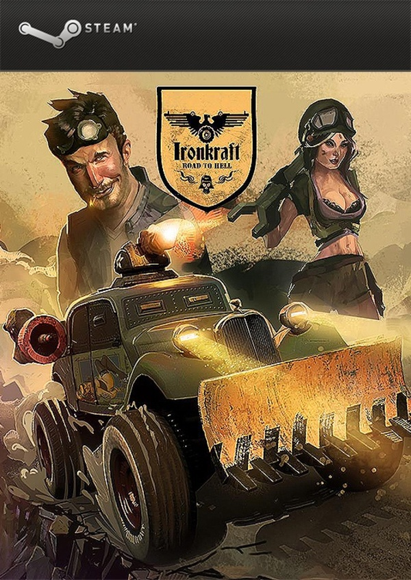 Cover zu Ironkraft - Road to Hell