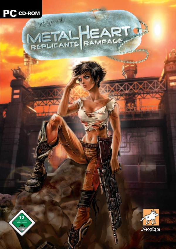 Cover zu Metalheart: Replicants Rampage