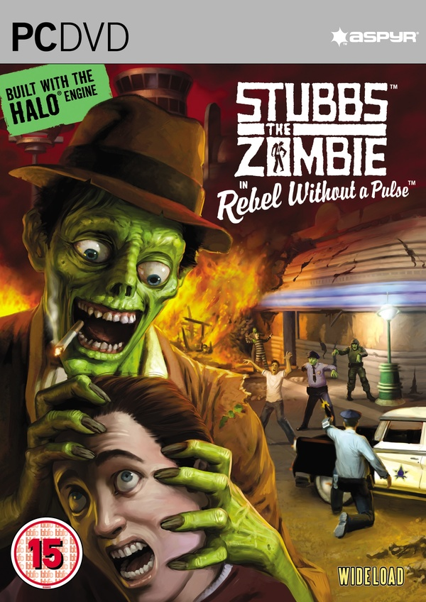 Cover zu Stubbs the Zombie in Rebel without a Pulse