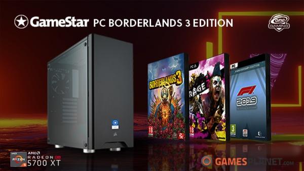 Borderlands 3 geschenkt - Weitere Spiele zu ausgewählten GameStar-PCs