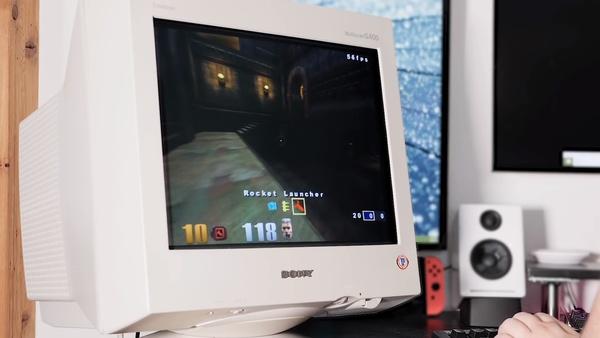 144-Hz-Monitore schauen in die Röhre - Alte CRTs besser als TFTs?