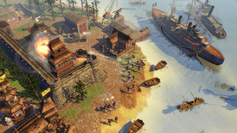 AoE 3: Wars of Liberty - Ein Vorbild für Age of Empires 4