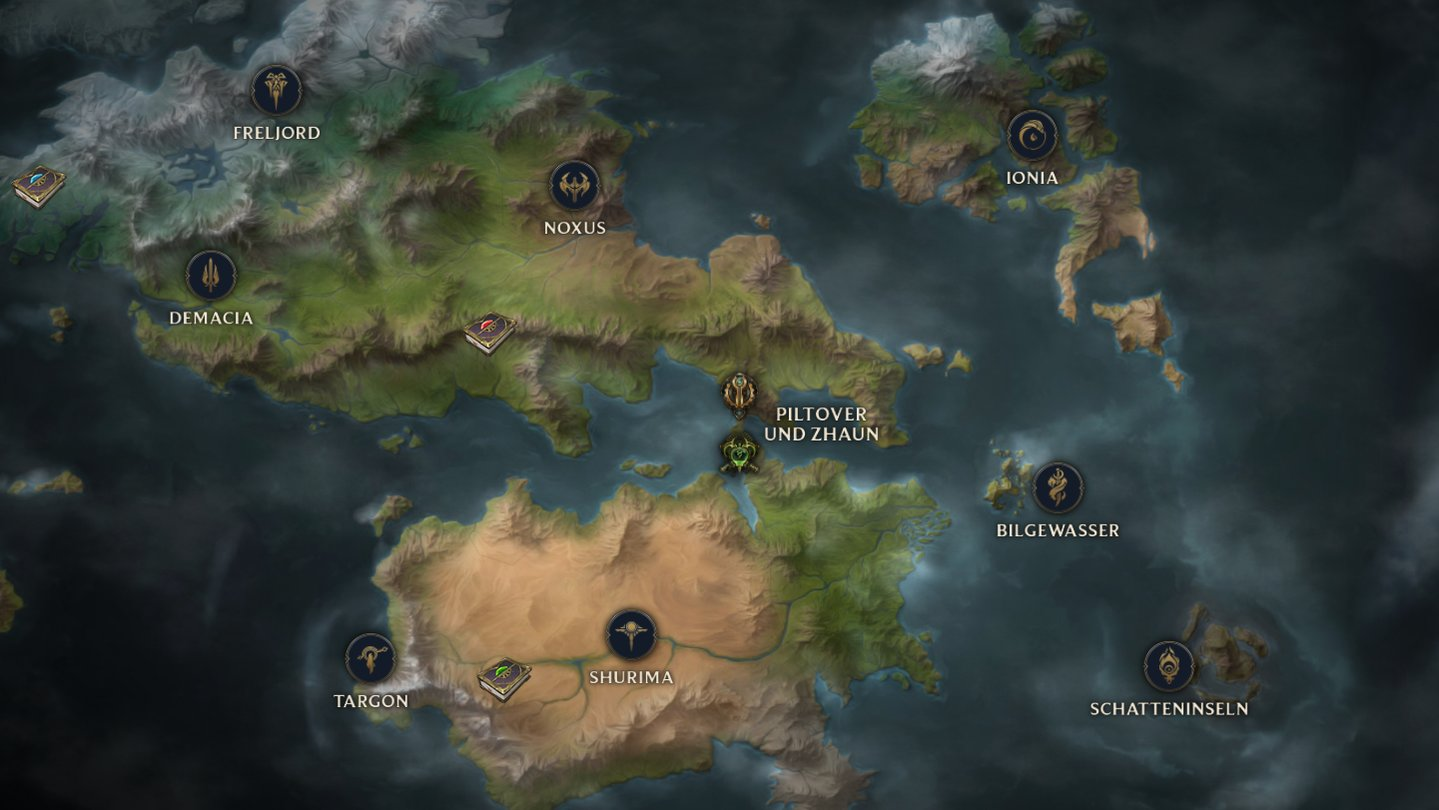 Runeterra Karte