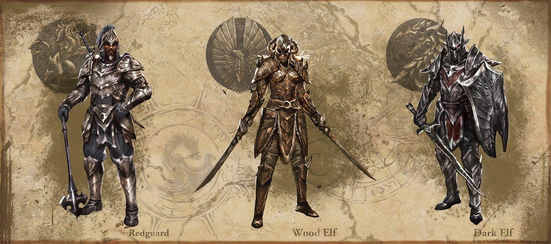 The Elder Scrolls Online Konzeptzeichnungen Zu Den Schweren
