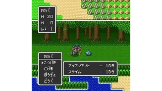 ... and even enemies of various kinds together (DQ2)