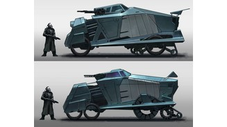 Project Borealis Combine Vehicle Second Pass