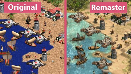Age of Empires Definitive Edition - Original und Remaster im Screenshot-Vergleich