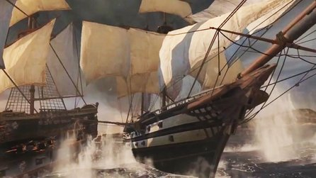 Assassin's Creed 3 - Gamescom-Trailer zu den Seeschlachten