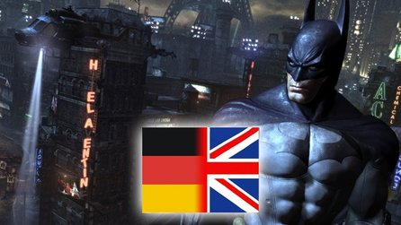 Batman: Arkham City - Sprachvergleichs-Video: Deutsch / Englisch