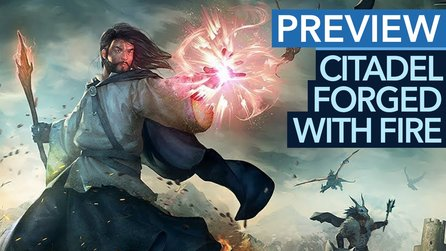 Citadel: Forged with Fire - Preview-Video: MMO vereint ARK, Skyrim und Harry Potter