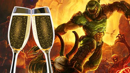 Doom Eternal im Test: Ein Shooter wie Champagner