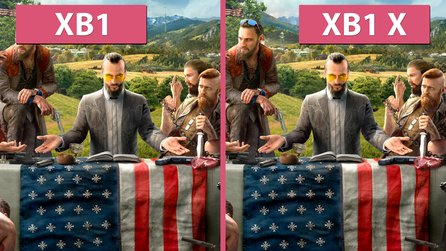 Far Cry 5 - Xbox One vs. Xbox One X im Grafikvergleich