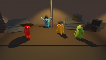 Gang Beasts - Gameplay-Trailer aus der Alpha des Brawlers