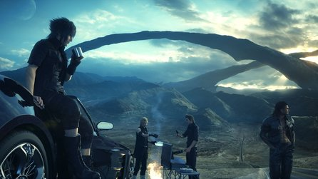 Final Fantasy 15 - Crossover-DLCs: Tomb Raider, Terra Wars und DJ Nobunaga