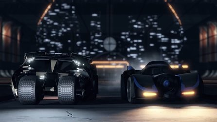 Rocket League - Die neuen Batmobile im Trailer