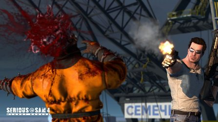 Serious Sam 4: Planet Badass - Erstes Gameplay aus dem Old-School-Shooter