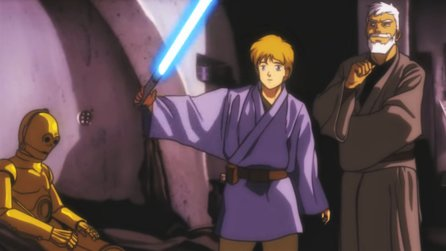 Star Wars als Anime?! - Fan inszeniert Episode IV als oldschool Japano-Animationsfilm