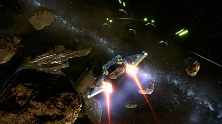 Star Wars: The Old Republic - Test-Video zum Addon »Galactic Starfighter«