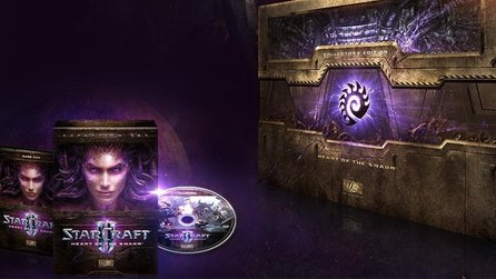 StarCraft 2: Heart of the Swarm - Boxenstopp-Video zur Collector's Edition
