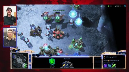 StarCraft 2: Heart of the Swarm - Multiplayer-Duell aus der Beta: Zerg vs. Protoss