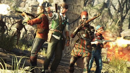 Strange Brigade - 45 Minuten Gameplay aus dem Koop-Shooter der Sniper-Elite-Macher