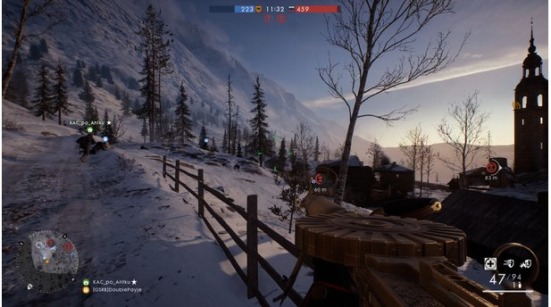 <b>Battlefield 1: In the Name of the Tsar</b><br>Die Karte Brussilow-Festung zeigt ein malerisches Dorf am Fuße der Karpaten. Zeit zum Genießen des Ausblicks haben wir aber kaum.